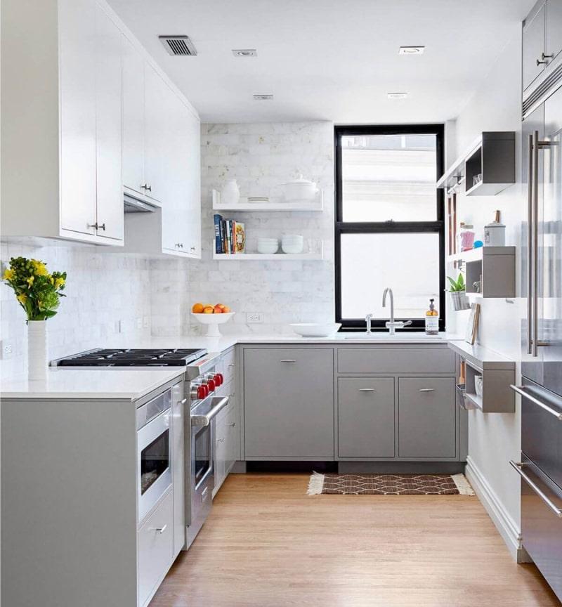 tủ bếp tiết kiệm diện tích cho không gian nhỏ